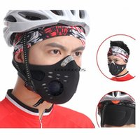 Wholesale WOLFBIKE Anti pollution City Cycling Mask Mouth Muffle Dust Mask Bicycle Sports Protect Road cycling mask face cover Protection