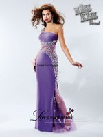 Cheap sheath 2015 prom gown with one shoulder beads Crystals on shoulder strap and on the illusion netting panel from bodice Party Dresses L022721
