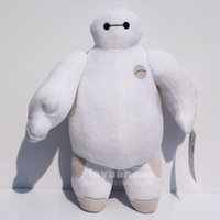 Wholesale 12inch CM The BIG Hero Baymax plush Toy Baymax stuffed animal plush bececos Robot Hands Moveable toys
