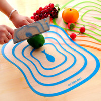 Wholesale 40 Chopping Block Cutting Chopping Board Frosted Translucent Cutting Board