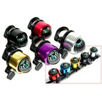 Wholesale Safety Bicycle Bell Compass Function Inside Cycling Bell Horn Alarm Brand New Good Quality