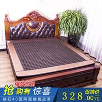 Wholesale Yu Hing Ronda health germanium stone mattress dual temperature control heating tourmaline far infrared therapy jade mattress mat