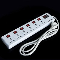 Wholesale 6 Universal Outlet USB Charger Port Power Strip Surge Protector Circuit Breaker
