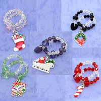Wholesale 2015 New Year Mixed Christmas Wine Glass Charms Gifts x25mm