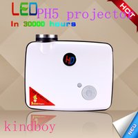 auto projector screen - PH5 Projector Auto flip screen screen display W Led lamp hours lamp lifel