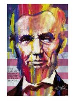 abraham movie - 2014 New Abraham Lincoln HD Home Decor Movie Poster Customized Fashion Classic x76 cm Wall Sticker DGT
