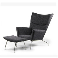 aluminum leisure furniture - Terrace Leisure sofa cloth armchair creative wings wing chair womb chair siesta chair leisure furniture