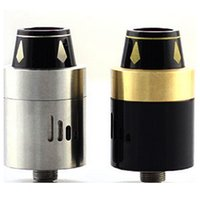 Replaceable 3.5ml Metal Vaporizer Royal Hunter RDA RH RDA Atomizer Mod dripper 22mm Rebuildable Tank Stainless Steel Black fit 510 Mods VS goblin DHL Free ATB267