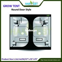 Wholesale Professional custom grow tents PEVA green tent fabric high quality iron pipe size x240x200cm