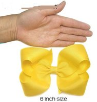 big hair bows - 15 off inch hot selling bows for girl big ribbon bows Girls hair accessories hair bow colors