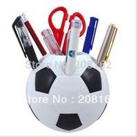 Wholesale Football Toothbrush Holder Pen Case Multi Sheif Penholder Pen Holders