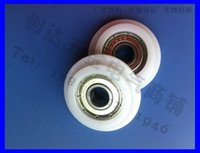 Wholesale Miniature Ball Bearings zz mm shower rome pom plastic roller wheel NYLON Y TYPE pulley