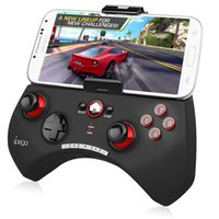 Wholesale New Come Hot Sell Ipega PG Gaming Bluetooth Controller Gamepad Joystick For iPhone iPad Samsung Moto Android Black White Color
