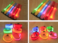 adult arm bands - 100 Lover s outdoor sports led arm band flash led wrist straps safety product for adults kids