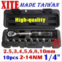 Wholesale Taiwan XITE quot DR Nm piece torque wrench Bicycle wrench bycicle bike tools kit set tool bike repair spanner original free