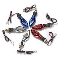 Wholesale 2PCS colors available Universal Motorcycle V LED Turn Signal Indicator Light Lamp