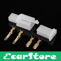 atv set - 10 Sets Kit Pins Way Male Female Connector mm Terminal for Motorcycle Car ATV Scooter Boat