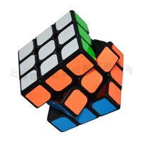 Wholesale 5 cm Moyu Guanlong Cube x3x3 PVC Sticker Block Puzzle Speed Magic Cube Colorful Learning Educational Puzzle Cubo Magico Toys