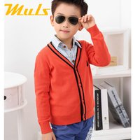 children fashion sweater - baby boy clothes fashion items polo sweater Children s Spring and Autumn coat Boys cardigan infantil cotton Sweaters Kids s