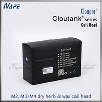 Wholesale Cloupor Cloutank M2 M3 M4 Dry Herb Wax Coils Atomizer Coil Head for Cloutank M3 M4 Dry Herb Wax in and Cloutank M2 Original