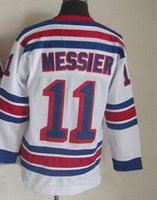 Wholesale 2015 Rangers Mark Messier White CCM Throwback Stitched Hockey jerseys Blue New Season Hockey Wear Athletic Outdoor Apparel from yakuda