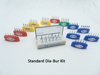 Wholesale Standard Diamond Bur Kit Autoclavable Bur Holder FG MM Autoclavable Diamond Bur Kit