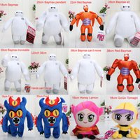 free stuff - 18 cm styles Big Hero Baymax Stuffed Animal Plush Toys With Tag Dolls For Children