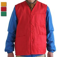 advertising jackets - Fall High Quality Vest Men Women Waistcoat Advertising Volunteers Supermarket Cashier Work Vests Sleeveless Jacket Size M XL