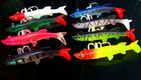 Cheap Lot 3 Pieces Free Shipping Jigs Lead Fish Fishing Lures High Live Vivid Sardine Fish Artificial Bait