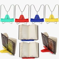 Wholesale Brand New Best Price Adjustable Angle Foldable Portable Reading Book Stand For iPad Holder Fit For Student Office