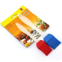 Wholesale The silica gel brush brush sauce barbecue accessories
