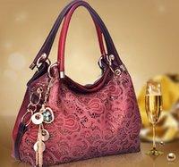 bag borsa - Ladies bags kim kardashian bag High Quality Designer Brand Lace PU Leather Shoulder Bags Women Messenger Bags borsa donna