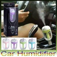 car usb humidifier - Nanum Car charger humidifier fresh refreshing fragrance lasting addition to static metal head DHL