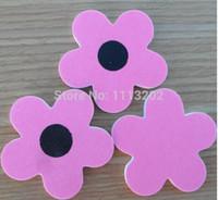 Wholesale New Arrival Sunflower shapes sandpaper file EVA nail file Nail polish nail tools