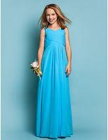 Cheap Reference Images Junior Bridesmaids Chiffon Dresses Best Chiffon Ruffle Girls Weddings Party dresses