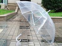 Wholesale DHL Transparent Umbrella Clear See Through Umbrellas