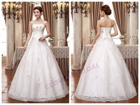 dress factory - K51 Factory Whole Sale White Lace Crystal Sweetheart Tassel Sequins Beaded Tiers sexy Lace Up Floor Length A Line Wedding Dresses