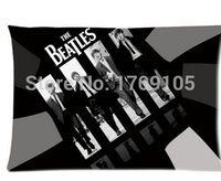 beatles albums - Custom Your Photos Comfortable Pillowcase The Beatles The Red Album Pillow case Covers Standard Size quot x30 quot Inch