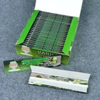 Cheap 15 kinds of fruity flavored HORNET cigarette rolling Papers size 110mm*44mm 32sheet pack 25pack box