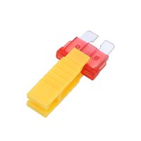 Wholesale Universal Blade Fuse Puller Car Automobile Fuse Clip Tool Extractor for Car Fuse High Quality order lt no track