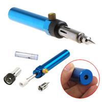 Wholesale Gas Blow Torch Soldering Solder Iron Gun Butane Cordless Welding Pen Burner