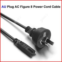 Wholesale AU Plug AC Figure Power Cord Cable m FT For Battery Charger AC Power Adapter Laptop