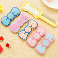 Wholesale Womens Lovely Cartoon Compact Mirrors Small Folding Portable Mirrors Cosmetic Makeup Mirrors Wholesales YT0285 salebags