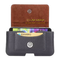 belt findings - Artificial Leather Phone Case Man Belt Clip Mobile Phone Case Pouch Card Case For Oppo Find QHD Oppo R7s Alcatel Flash Plus Alcatel Flash