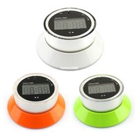Wholesale Digital LCD Kitchen Timer Count Down Alarm Clock Countdown Cooking Stopwatch Green
