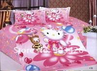 Wholesale Cotton Spiderman Bed Sheet Cartoon Single Bedding set Three piece Children Bedding G1302