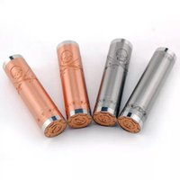Wholesale Corsair mechanical mods clone Red Copper pirate skull Mechanical Mod Battery the newest vaporizer mod in USA market from china