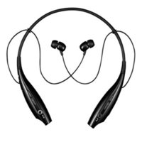 Wholesale Electronics Tone Stereo Bluetooth Headset HBS for LG Samsung Iphone HTC HBS Black