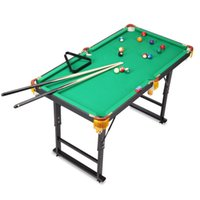 Wholesale billiards black eight mini pool table Children standard household folding table tennis tables