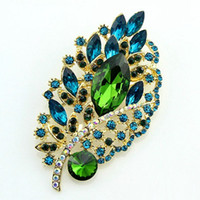american retail supply - 2016 Free postage hot pink petals paragraph foreign trade deals rhinestone brooch bouquet brooch buck provide retail supply